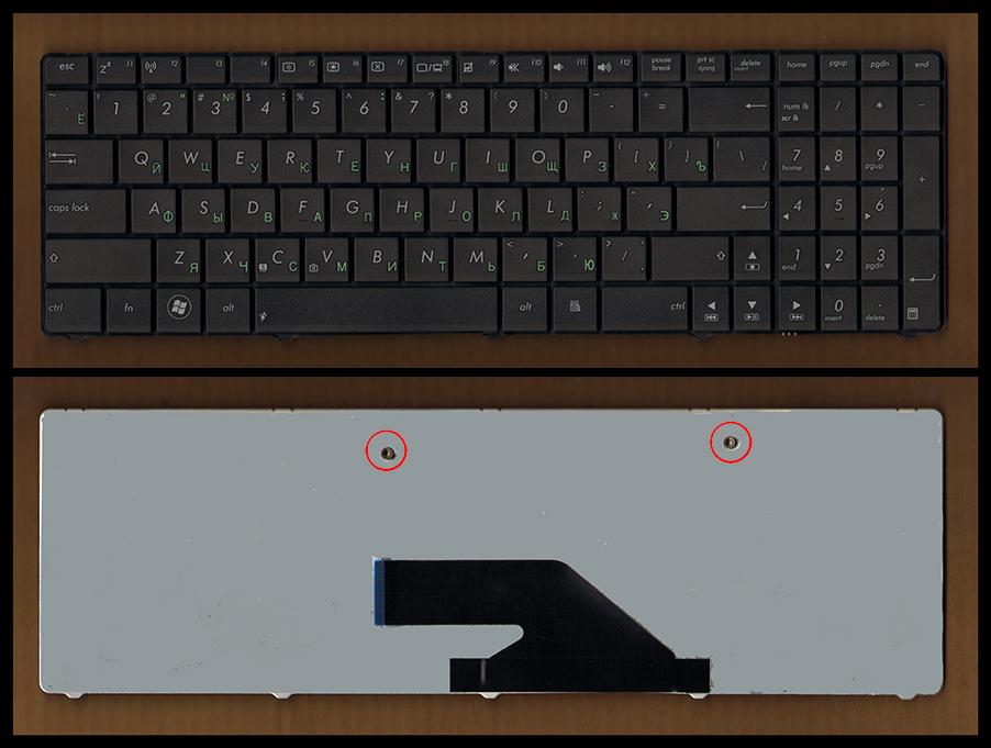 Клавиатура для ноутбука Asus K75